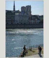 Seine soleil 1 (afantelin) Tags: iledefrance paris notredame seine rivière quai eau bleu