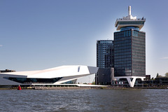 Amsterdam The EYE Filmmuseum _3404 (hkoons) Tags: northsea westerneurope cityscape amsterdam atlantic capital city europe european holland netherlands architecture building businesses canals coast coastal commerce commercial dykes ocean sea structure tidal urban waterways