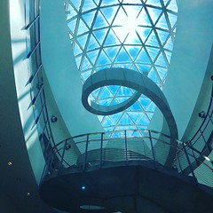 Florida 2017 (JLPoole) Tags: salvadordalimuseum clearwater florida staircase sun sky art salvadordali museum theartistseyes
