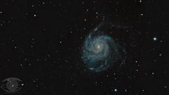 M101 - Pinwheel Galaxy (Dark Arts Astrophotography) Tags: astronomy space astrophotography sky stars star galaxy pinwheel m101 science nature natur astrometrydotnet:id=nova2630197 astrometrydotnet:status=solved