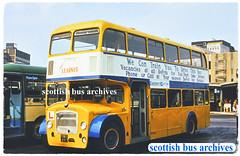 EASTERN SCOTTISH YWS881 (SCOTTISH BUS ARCHIVES) Tags: aa881 easternscottish bristollodekka drivertrainer yws881 scottishbusgroup ecw