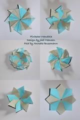 Pinkster Mandala (José Meeusen) (AnkaAlex) Tags: paperfolding papercraft paper paperfoldingart