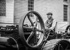 Traction (aljones27) Tags: museumofeastanglianlife suffolk stowmarket timelineevents reenactors tractionengine paraffinengine farmer labourer landgirl