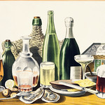 Advertisement: The Best Wines, Liquors, Ales & Lager Beer, w thumbnail