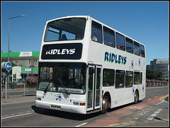 Ridleys W443 WGH (Jason 87030) Tags: rugby warwickshire corporationst street asda plaxton president white ridleys kenilworth 336 2018 july school swimming contracy uk town sony ilce alpha volvo doubledecker w443wgh exlondon