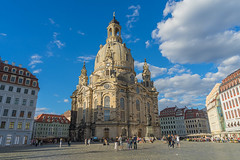 Dresden - Frauenkirche (Ventura Carmona) Tags: alemania germany deutschland sachsen sajonia dresden frauenkirche kircheunsererliebenfrau neumarkt barock venturacarmona dresde