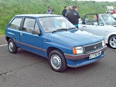 35 Vauxhall Nova 3 d Hatch (1st Gen - Opel Cora A) (1989) (robertknight16) Tags: vauxhall spain spannish 1980s opel corsa nova seighford g776ewl