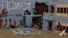 The point of Agony (Jan, The Creator) Tags: apocalyptic moc scene