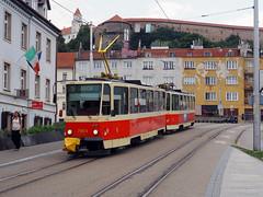 DPB 7904+7903 (jvr440) Tags: tram trolley streetcar tatra bratislava t6a5