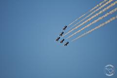 Breitling Jet Team - Albatros L39 (Romeo_Papa) Tags: canon eos 70d eos70d spotter spotting aircraft airplane breitling breitlingjetteam albatros l39 sunset avporn avgeek