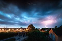 Thunderstorm (Stéphane Sélo Photographies) Tags: france lyon paysage pentax pentaxk3ii rhône sigma1020f456 valdesaône ain blending foudre landscape lightning massieux orage thunderstorm éclair