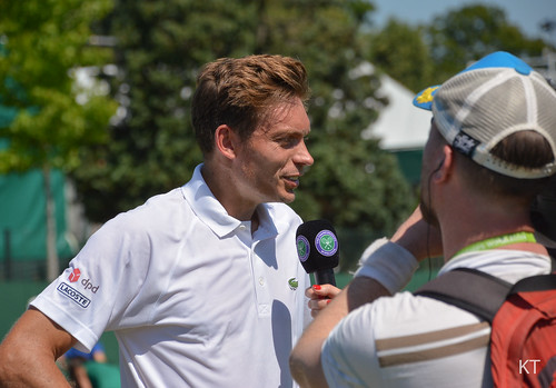 Nicolas Mahut - Nicolas Mahut interviewed