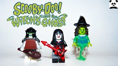 Scooby Doo and the Witch's Ghost (Random_Panda) Tags: lego figs fig figures figure minifigs minifig minifigures minifigure purist purists character characters scooby doo witchs ghost fred daphne velma shaggy hex girls the