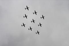 RAF 100th Anniversary Flypast, London (IFM Photographic) Tags: dsc00012a sony dscw12 w12 dsc london westminster cityofwestminster city royalairforce raf 100thanniversary flypast plane aircraft airplane diamondnine diamond9 shorttucanot1 short tucano t1