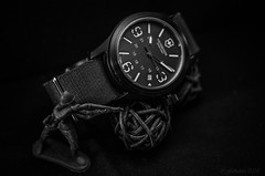 Watch and soldier (fabakira) Tags: fabakira fabakiraphotography fabakiraphotography2018 nikon d7000 nikkor nikkor40macro watches montres victorinox victorinoxswissarmy gardetemps horlogerie toys monochrome noirblanc nb bwworldwithnikon time nikonphotographers nikonphotography nikonartists nikonfr