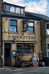 Keighley, Cricketers (2018) (Dayoff171) Tags: westyorkshire england europe boozers gbg2018 unitedkingdom pubs publichouses greatbritain gbg yorkshire bd215je