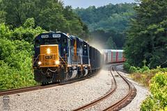 CSX A703-26 (Steve Hardin) Tags: standardcab locomotive engine emd sd40e3 csx wa westernatlantic railroad railway railfan manifest freight train emerson georgia