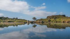 A hidden gem ... (Einir Wyn Leigh) Tags: landscape lake nature beauty wales walking hiking blue reflection snowdonia sky clouds tree colorful uk summer july nikon