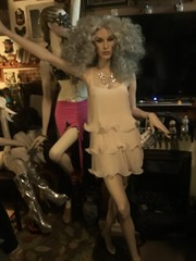 Drag up mannequins (JAMES @ studio 136) Tags: rootstein mannequin drag queens