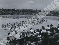 929- 5556 (Kamehameha Schools Archives) Tags: kamehameha archives ksg ksb ks oahu kapalama luryier pop diamond 1955 1956 first grade 1st kspd lei day