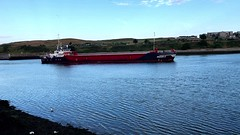 Rhoon C - Aberdeen Harbour Scotland - 15/7/2018 (DanoAberdeen) Tags: mpeg video iphonevideo iphone iphone8plus 4k amateur autumn aberdeenscotland abdn abz aberdeencity aberdeenharbour scotland spring scottish schotland seaport seafarers danoaberdeen danophotography dock footdee grampian gb harbour heavymetal skottland lifeatsea szkocja candid cargoships clouds vessels bluesky boats blue northsea northeast maritime merchantships psv workboats oilships offshore shipspotting tug tugboat offshoreships 2018 fittie docks north pier aberdeenunionstreet rhoonc cebomarine rhoon geaotagged navigation wasser tugboats metal trawler scotch northeastsupplyships berthed sailors watercraft