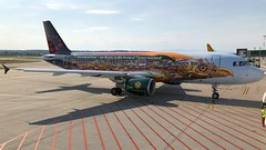 OO-SNF (Breitling Jet Team) Tags: oosnf brussels airlines tomorrowland livery euroairport bsl mlh basel flughafen lfsb