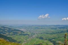 Brülisau AI - Aussicht vom Zahme Gocht (1659 m) (pe_ma) Tags: brülisau hike hiking zahmegocht alpsigel weissbad appenzell schwende aussicht rundblick