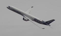 D18938.  Airbus A350-1000 XWB. (Ron Fisher) Tags: aircraft airliner airbus airbusa3501000xwb farnboroughairshow aeroplane airshow