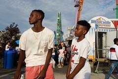 Stillwell (dtanist) Tags: nyc newyork newyorkcity new york city sony a7 konica hexanon 40mm brooklyn coney island mermaid parade kids boys stillwell avenue