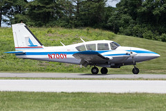 N700Y (✈ Greg Rendell) Tags: 1977 n700y piedmontairlines piperpa23250aztecf private aircraft airplane aviation brandywineairport flight gregrendellcom koqn n99 oqn pa pennsylvania retro retroprop spotting westchester westchesterairport unitedstates us