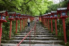 貴船神社 Kibune-jinja Shrine (ELCAN KE-7A) Tags: 日本 japan 京都 kyoto 貴船 kibune 貴船神社 shrine 新緑 tender green ペンタックス pentax k3ⅱ 2018