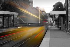 U34 (renelacher) Tags: nikon d3000 europe germany deutschland stuttgart strasenbahn tram light trails city stadt exposure langzeitbelichtung urban station stadtbahn metro nikonphotography nikond3000 kitlens longexposure lighttrails