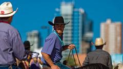 A Cowboy Look (Jacques P Raymond) Tags: parade cowboy stampede calgary alberta canada