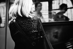 Wavering Radiant 309.365 (ewitsoe) Tags: canoneos6dii city ewitsoe street warszawa erikwitsoe summer urban warsaw 365 mono monochrome blackandwhite bnwpeople tram trams feeling travel mood traveling pedestrians