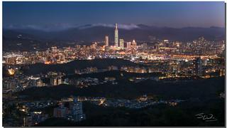 Gracias Typhoon Maria, you made the city of Taipei sparkle! Taipei, Taiwan