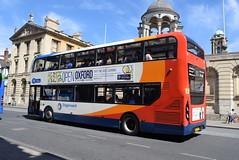 SO 10431 @ High Street, Oxford (ianjpoole) Tags: stagecoach oxfordshire alexander dennis enviro 400mmc sk15hdk 10431 working route 10 john radcliffe hospital speedwell street oxford