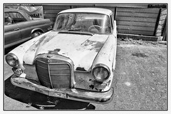 Oh Lord, won't you buy me... (BKFofOF) Tags: mercedes benz daimler nikon d610 fx rost rust gammelauto bnw