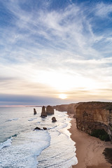 12 Apostles (matt_stanford) Tags: 12 apostles victoria geography geology coast rock sunset clouds sky beach sigma2470mmf28 canon eos 6d