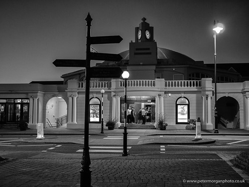 Porthcawl Pavilion at night 3