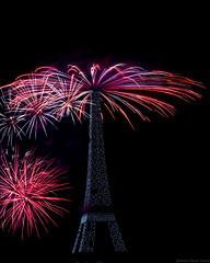 201807-FeuParis-23 (kawaneo) Tags: fireworks firework fêtenationale paris toureiffel eiffeltower night