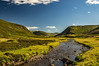 A Highland Summer (Brian Travelling) Tags: pentax kr scotland colour vibrant green blue sky mountains pentaxkr highland highlands cairngorms cluaniewater water stream landscape