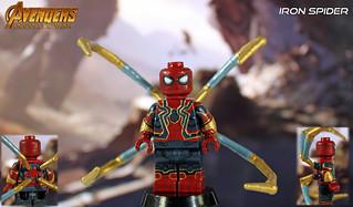 Custom LEGO Avengers: Infinity War | Iron Spider