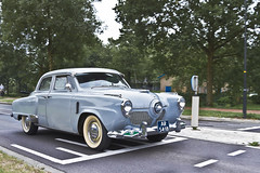 Studebaker Commander Sedan 1951 (2653) (Le Photiste) Tags: clay studebakercorporationsouthbendindianausa studebakercommandersedan cs 1951 studebakercommanderregaldeluxeseriesv8hmodelw54doorsedan simplyblue americanluxurycar apeldoornthenetherlands thenetherlands ar5418 sidecode1 oddvehicle oddtransport rarevehicle afeastformyeyes aphotographersview autofocus artisticimpressions alltypesoftransport anticando blinkagain beautifulcapture bestpeople'schoice bloodsweatandgear gearheads creativeimpuls cazadoresdeimágenes carscarscars canonflickraward digifotopro damncoolphotographers digitalcreations django'smaster friendsforever finegold fandevoitures fairplay greatphotographers peacetookovermyheart hairygitselite ineffable infinitexposure iqimagequality interesting inmyeyes livingwithmultiplesclerosisms lovelyflickr myfriendspictures mastersofcreativephotography niceasitgets photographers prophoto photographicworld planetearthtransport planetearthbackintheday photomix soe simplysuperb saariysqualitypictures slowride showcaseimages simplythebest simplybecause thebestshot thepitstopshop themachines transportofallkinds theredgroup thelooklevel1red vividstriking wheelsanythingthatrolls wow yourbestoftoday oldtimer