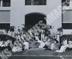 921- 5556 (Kamehameha Schools Archives) Tags: kamehameha archives ksg ksb ks oahu kapalama luryier pop diamond 1955 1956 lei day