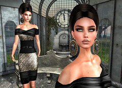 LuceMia - On9 Event (2018 SAFAS AWARD WINNER - Favorite Blogger - MISS ) Tags: on9event shanghai anamarkova emilè amore gopi earrings sl secondlife mesh fashion creations blog beauty hud colors models lucemia