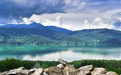 Landscape (cosovan vadim) Tags: mountain landscape lake reflections sky clouds calm nature nikon d750 2470mm f28 bicaz romania