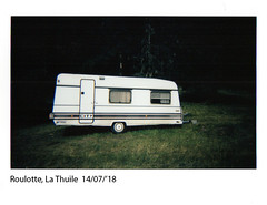 Roulotte (ro_buk [I'm not there]) Tags: lathuile roulotte pastore shepherd valledaosta instaxwide istantanea
