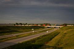 Last Chance for Romance (Nick Brown Photography) Tags: trains train railroad railfanning cn golden light photograph rails