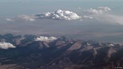 Twin Mountains (zeesstof) Tags: zeesstof aerial aerialview viewfromwindow windowseat flight commercialflight saltlakecitytohouston united unitedairlines colorado canoncity unitedstates usa