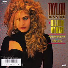 TAYLOR DAYNE / Tell It To My Heart (LOVE 4 TAYLOR DAYNE) Tags: taylordayne tellittomyheart japan 1988 80s 45record 7inchrecord